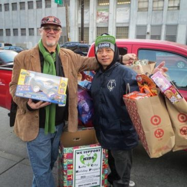 Seahawks v Saints Tailgate Toy Drive