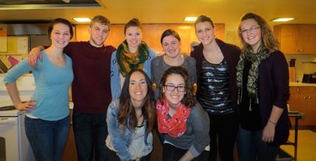 Concordia College Students Arrive