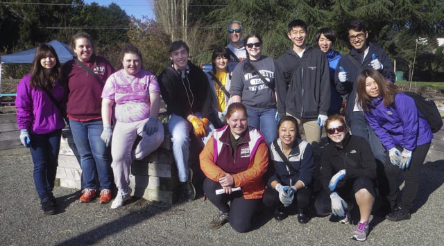 Willamette U Take a Break Program Visits Meadowbrook