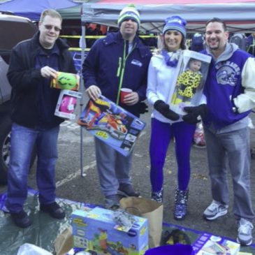 LHCP Tailgate for Tots Seahawks Game