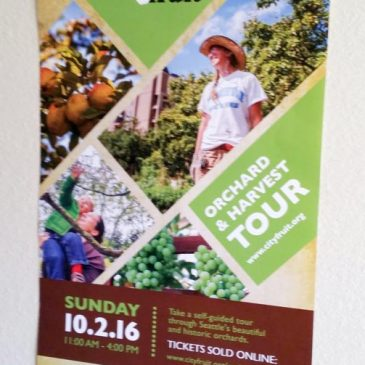 October 2 11am to 4pm City Wide Orchard Tour