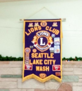Traditional banner full of history