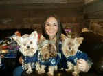 Hellbent is dog friendly and these pooches stole the show.