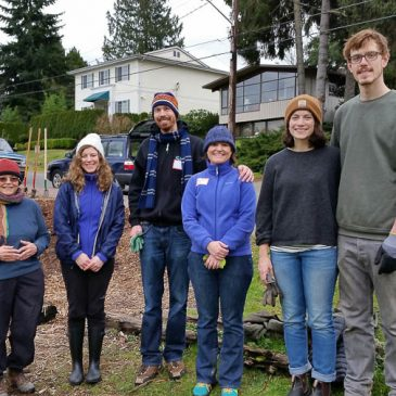 Church group visits Orchard