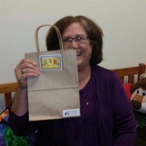Ann Fuller/NSFC received the 50 children's bags for July 8