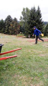 wheelbarrows rest, kids play