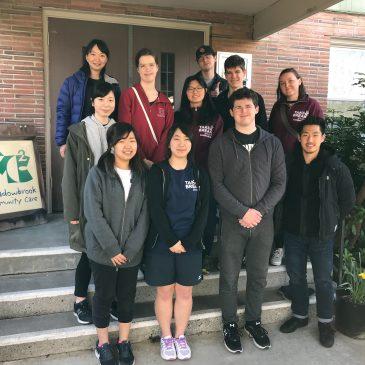 Willamette University students visit Seattle
