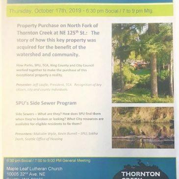 Meadowbrook hosts October TCA meeting…